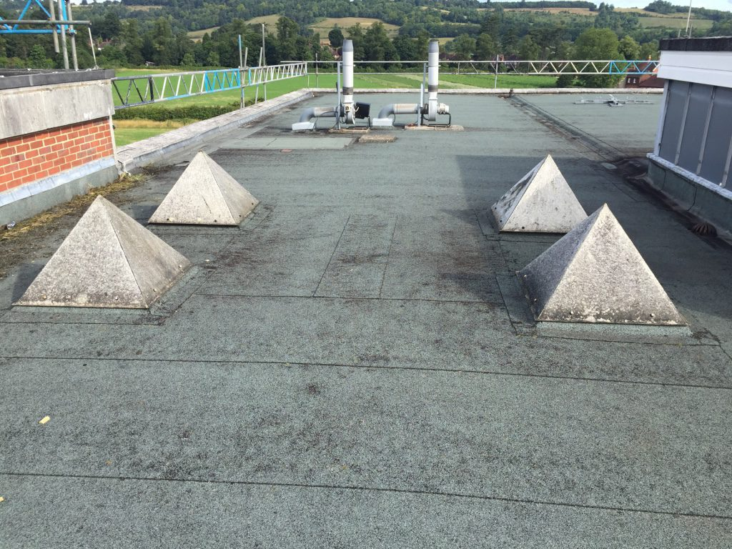 Dorking Roofing offer commercial flat roof repairs and new flat roofs