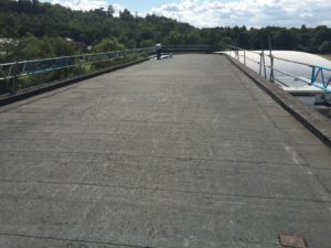 Industrial flat roofing company