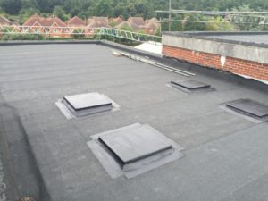 flat roofing by Dorking Roofing, surrey, sussex and london